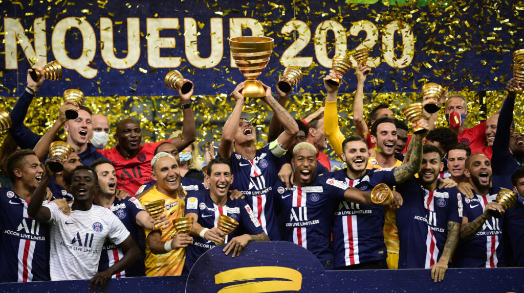 El PSG salió campeón de la Copa de la Liga y alcanzó al póker de títulos