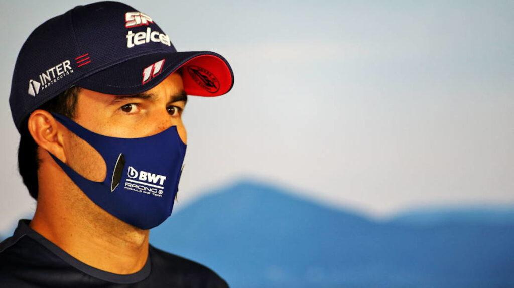 Sergio 'Checo' Pérez da positivo por Covid-19 y no correrá en Silverstone