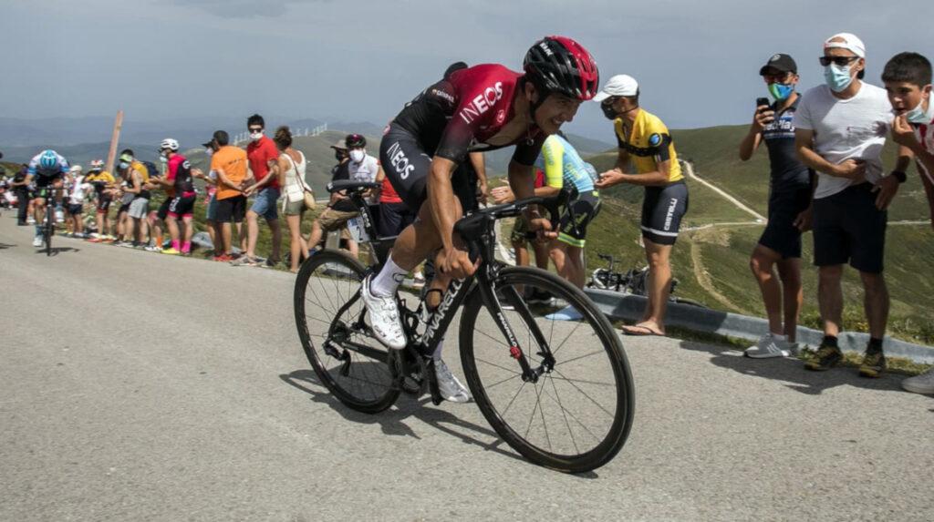 Carapaz sube al sexto lugar de la clasificación general de la Vuelta a Burgos