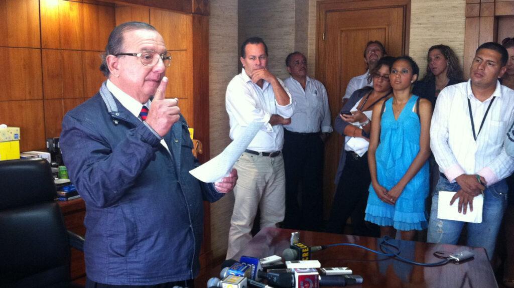 El partido de Álvaro Noboa no podrá participar en las elecciones de 2021