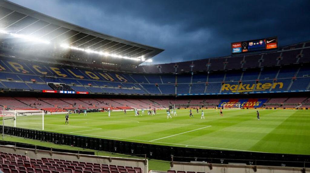 El FC Barcelona garantiza a UEFA seguridad en el partido contra Nápoles