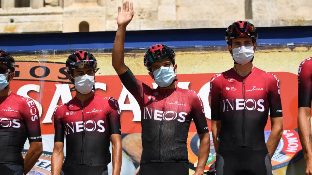 Carapaz termina en puesto 14 en la primera etapa de la Vuelta a Burgos