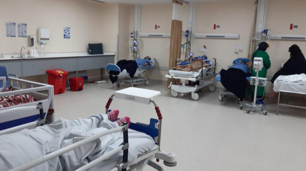 Hospital Quito Sur, sin espacio en terapia intensiva