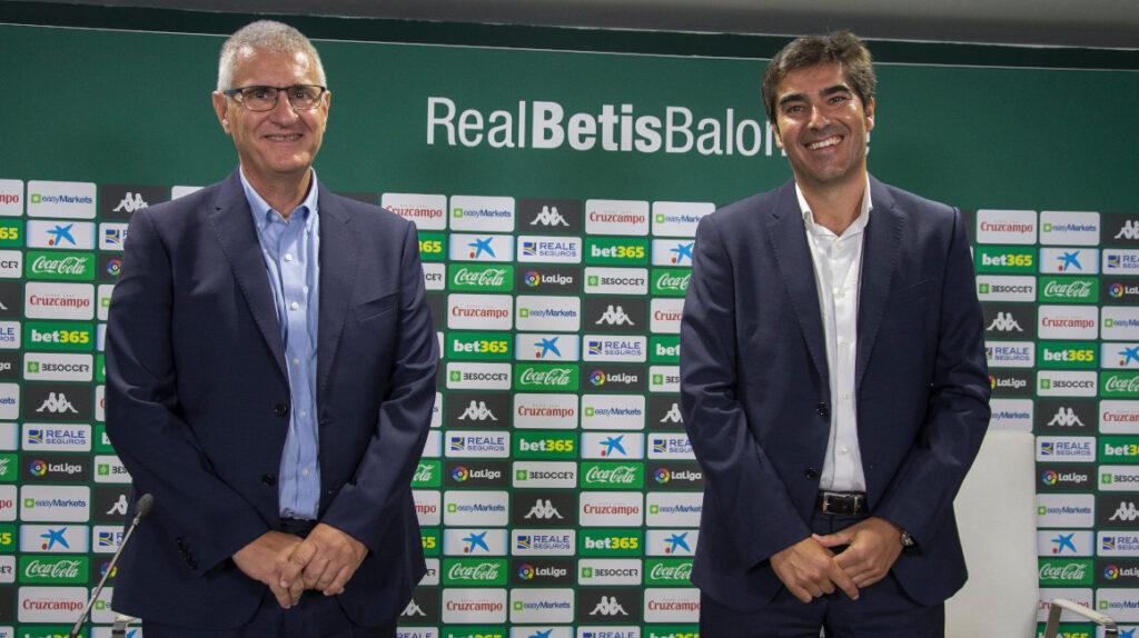 """Antonio Cordón llega al Betis """"para llevarlo lo más arriba posible"""""""