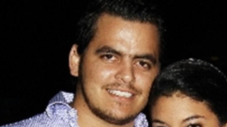 Stéfano Adum Casanova durante un evento social captado el 27 de septiembre de 2010.