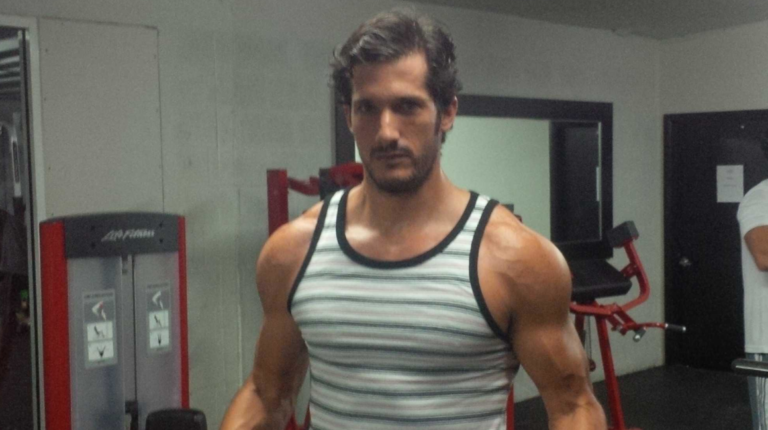 Federico Zenck en una foto de octubre de 2013 tomada de sus redes sociales.