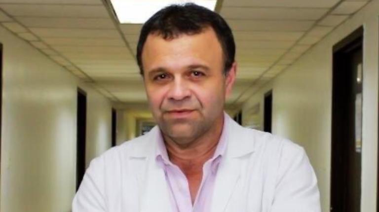 Luis Jairala Zunino en una imagen captada en 2018 en el hospital Teodoro Maldonado Carbo.