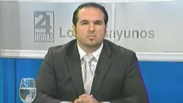 Michel Bucaram durante una entrevista ofrecida en 2013.