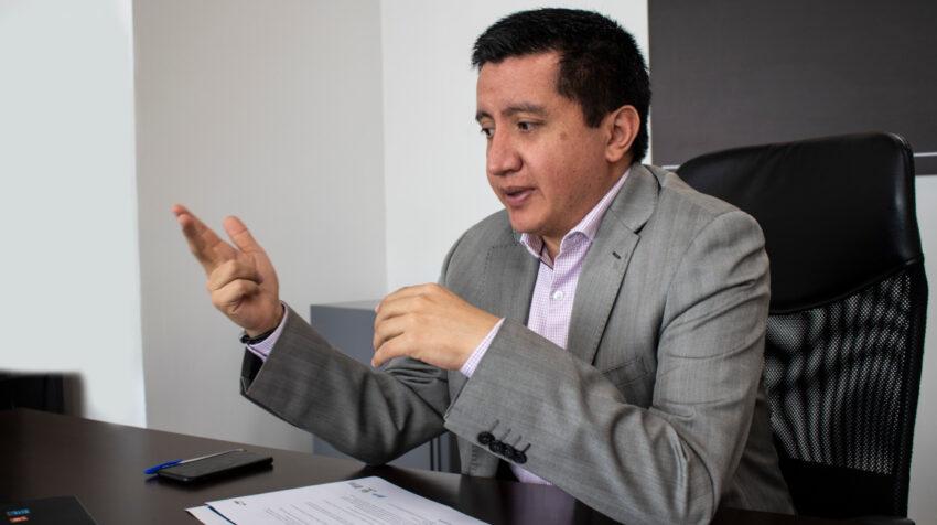 José Andrés López, es el nuevo presidente del Directorio de EMCO, desde este 9 de julio de 2020.