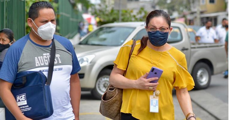 La fiscal Claudia Romero tomó la versión a Daniel Salcedo por el delito de asociación ilícita.