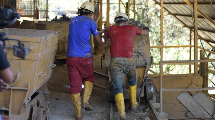 En Portovelo (El Oro) se han reanudado las actividades en las empresas mineras.