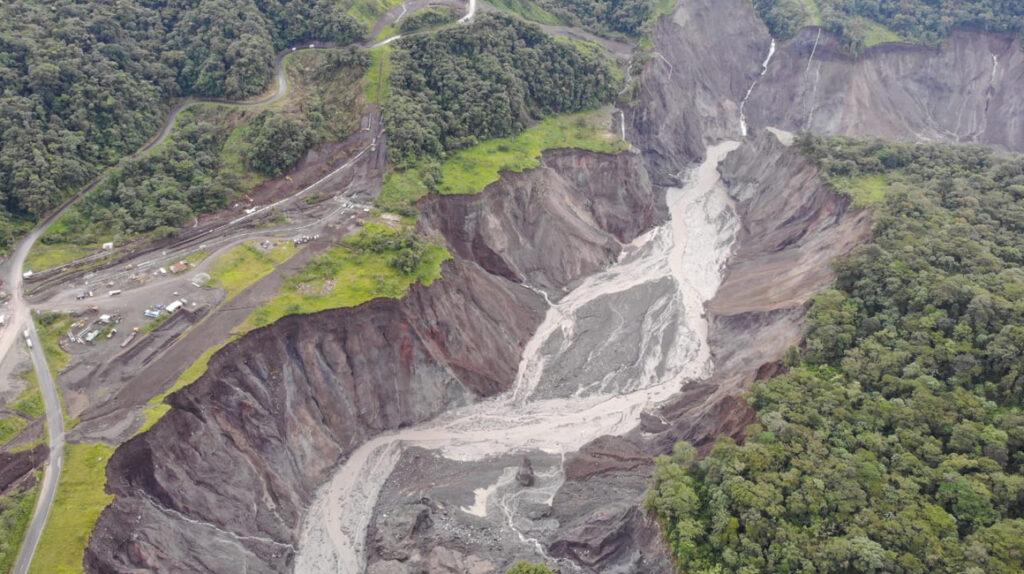 CELEC dice que erosión regresiva en el río Coca se detuvo el 23 de julio