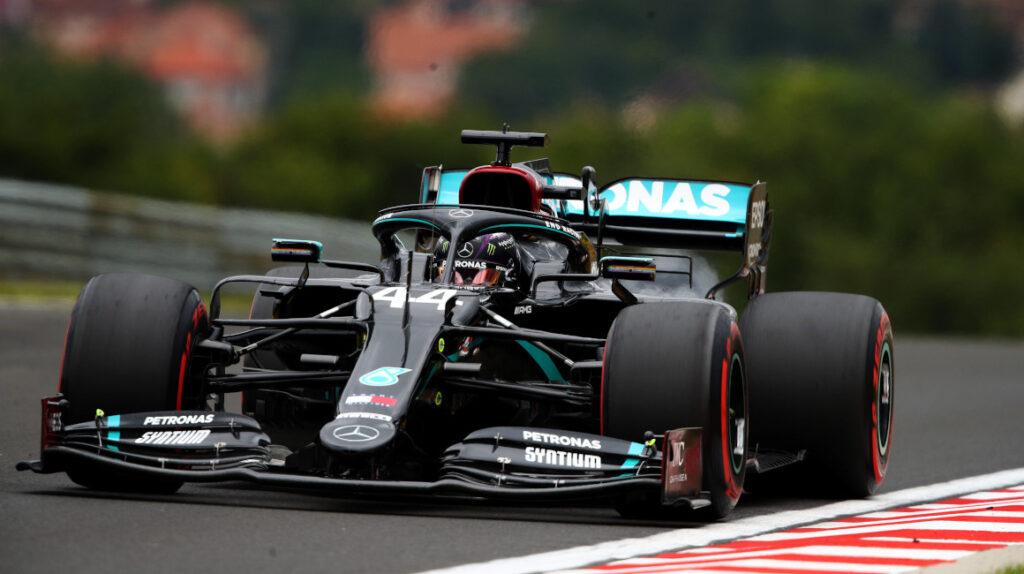 Hamilton estuvo imparable en Hungría y ganó con autoridad