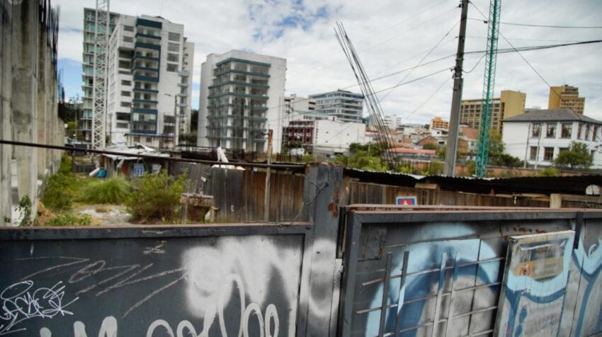 Imagen del proyecto inmobiliario del BIESS, en El Ejido, este 17 de julio.