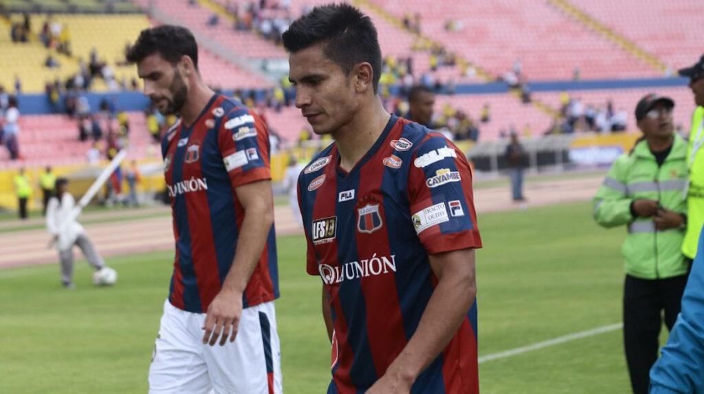 Luis Fernando Saritama jugará su quinta temporada con Deportivo Quito