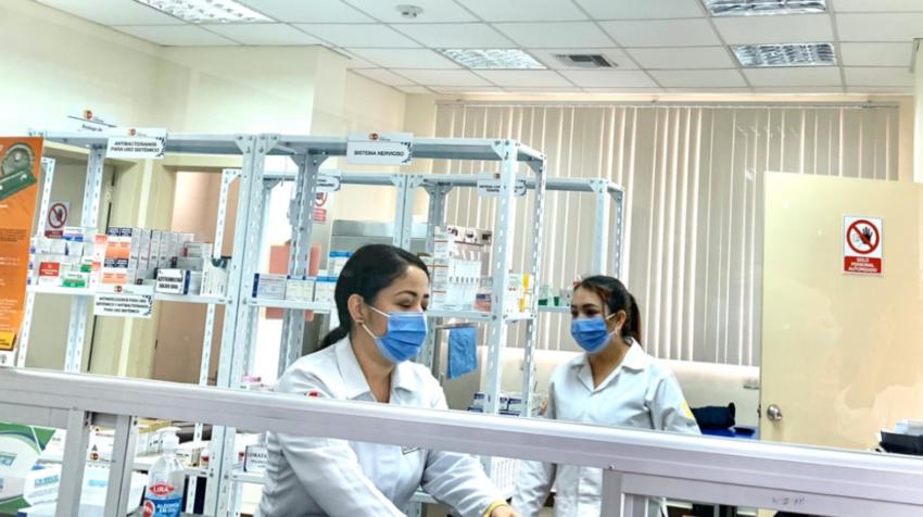 En el centro de salud tipo B de Portovelo (El Oro) se informó que no hay vacunas.