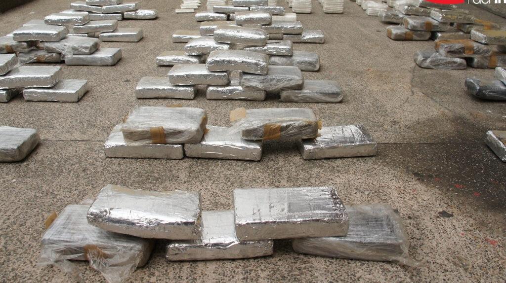 Policía decomisa 691 kilos de cocaína que tenían como destino Centroamérica