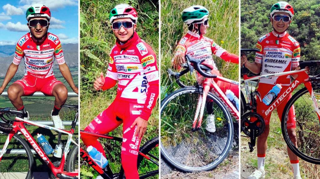 Alexander Cepeda quiere ganar una etapa y la 'maglia bianca' en el Giro de Italia