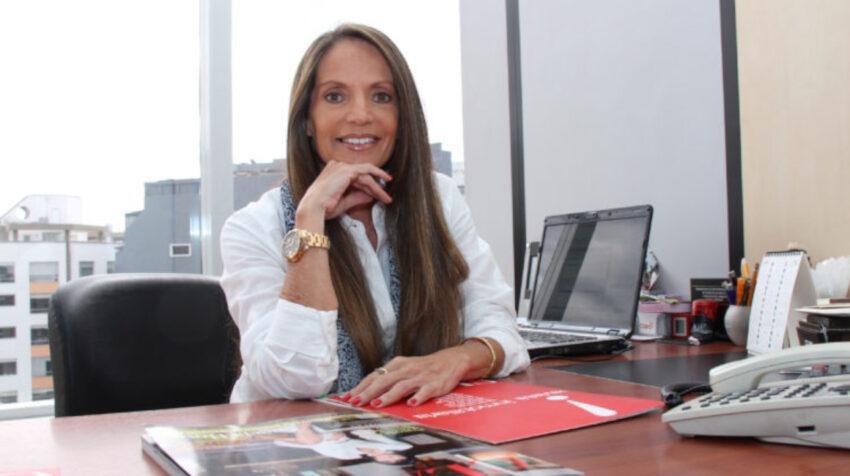 La nueva secretaria de Comunicación, Caridad Vela.
