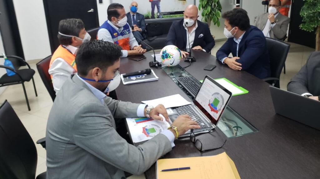 LigaPro y el COE nacional trabajan en el regreso del campeonato nacional