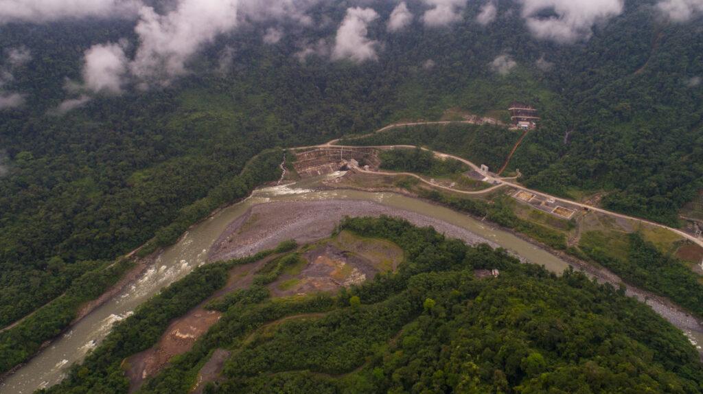 Erosión pone en jaque a la hidroeléctrica Coca Codo Sinclair