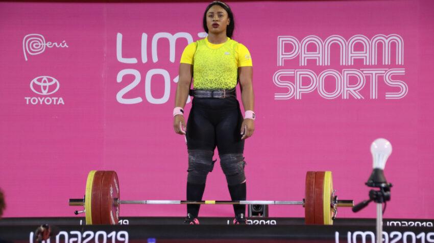 Tamara Salazar durante su participación en los Juegos Panamericanos de Lima, Perú, en 2019.