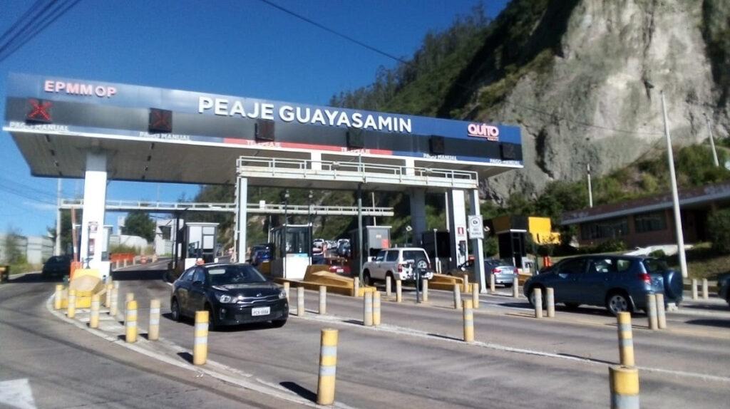 El peaje Guayasamín tendrá dos largos cierres entre domingo y martes