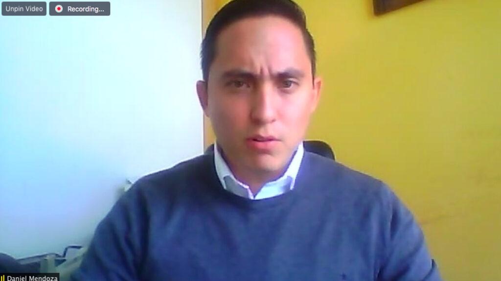 Daniel Mendoza presenta su renuncia a la Asamblea