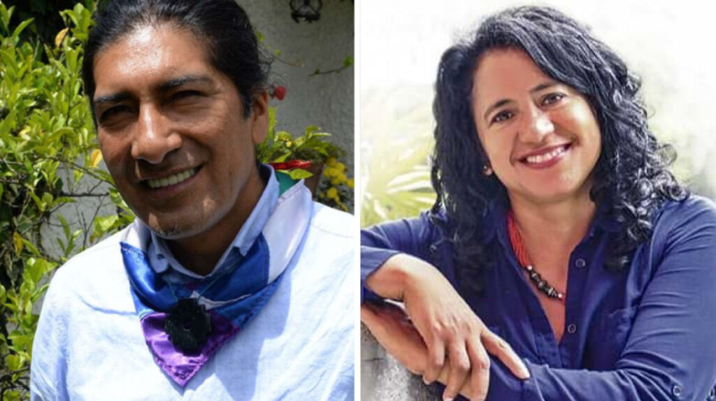 Pachakutik elige a la bióloga Virna Cedeño para completar binomio con Yaku Pérez