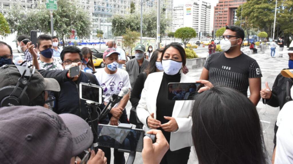 Paola Pabón, Virgilio Hernández y Christian González, a juicio por rebelión