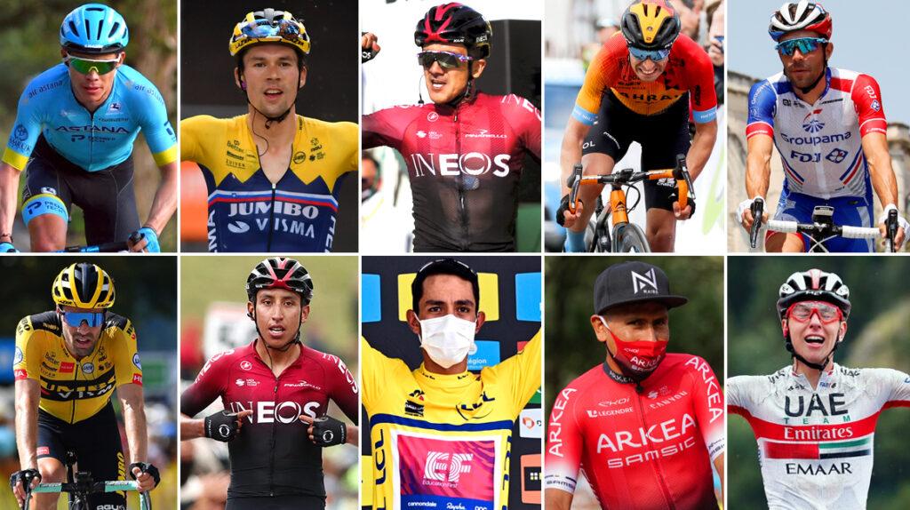 Los 10 favoritos para ganar el Tour de Francia 2020