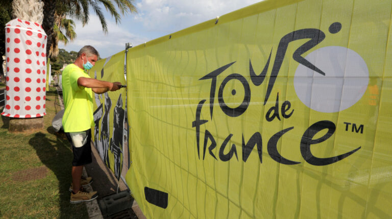 El Tour de Francia partirá desde Niza, el 29 de agosto de 2020 y llegará a París el 20 de septiembre.