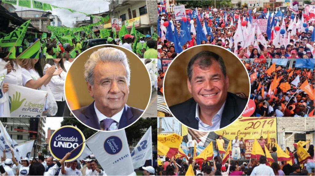 Seis hermanos y seis agrupaciones políticas en el escenario electoral