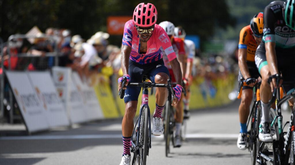 El colombiano Daniel Martínez confirmado para el Tour de Francia con el EF