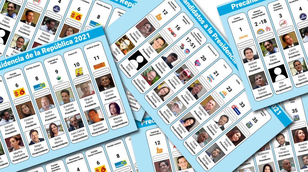 Ecuatorianos se burlan de los precandidatos con la tendencia #VotenPorMi