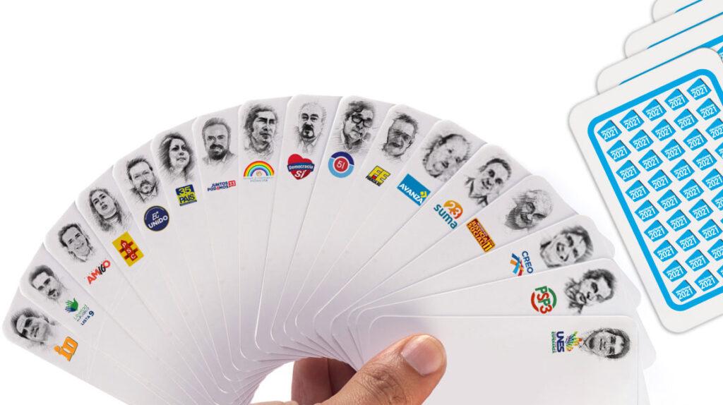 17 precandidatos presidenciales tras el último día de elecciones primarias