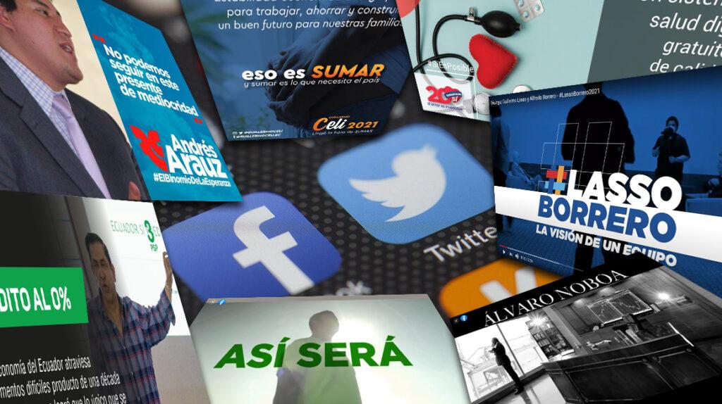 La propaganda electoral se mueve sin reglas en las redes sociales