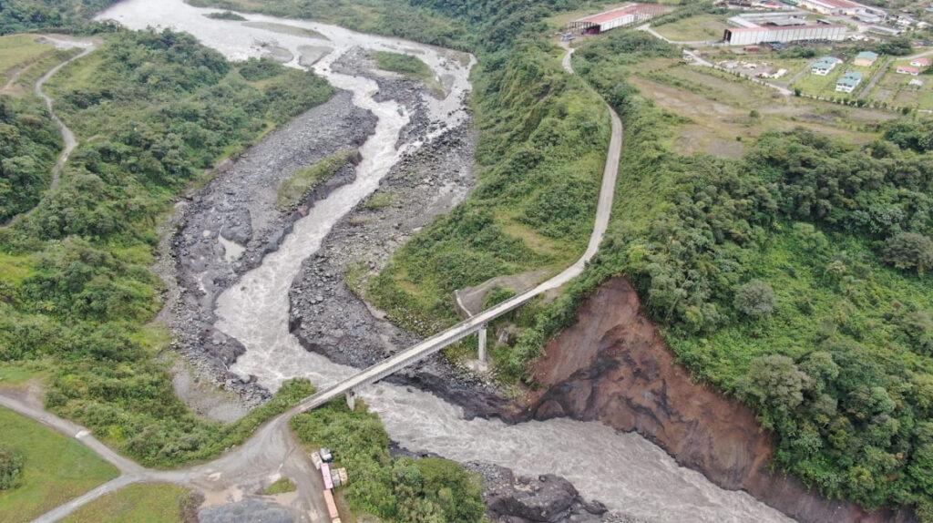 Erosión del río Coca pone en alerta a comunidad San Luis, en Napo