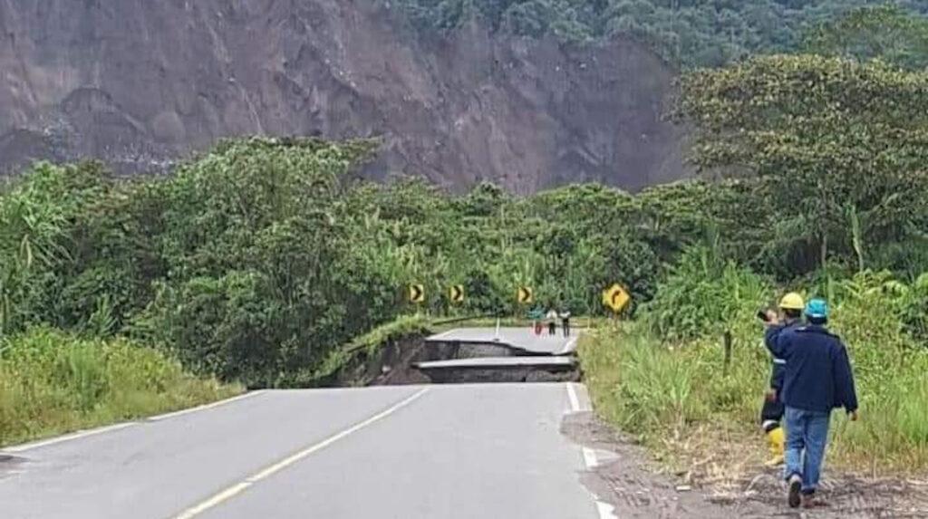 Ruta Baeza-Lago Agrio se habilitó con un tramo alterno