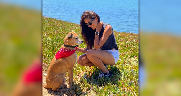 Maria Teresa Guerrero, disfruta de la naturaleza en California.