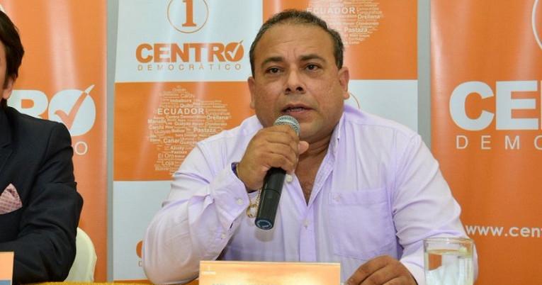 Enrique Menoscal es director de Centro Democrático desde 2019 y adherente al movimiento desde el mismo año.