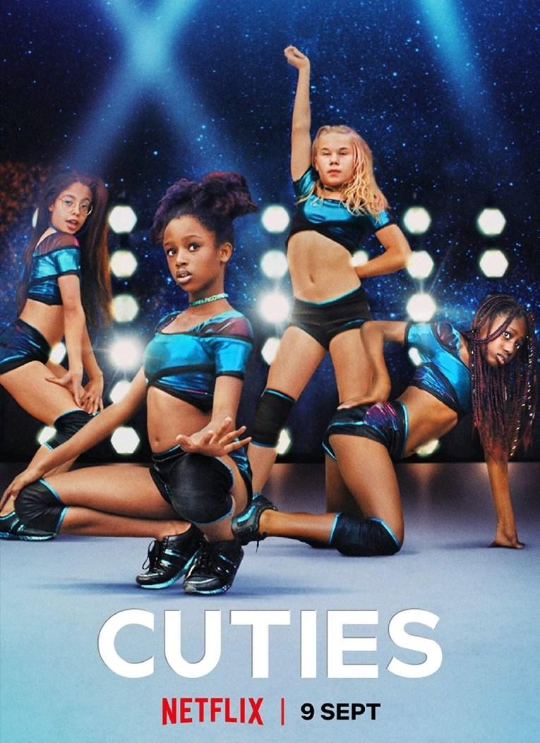 Primer afiche promocional que lanzó Netflix par el filme