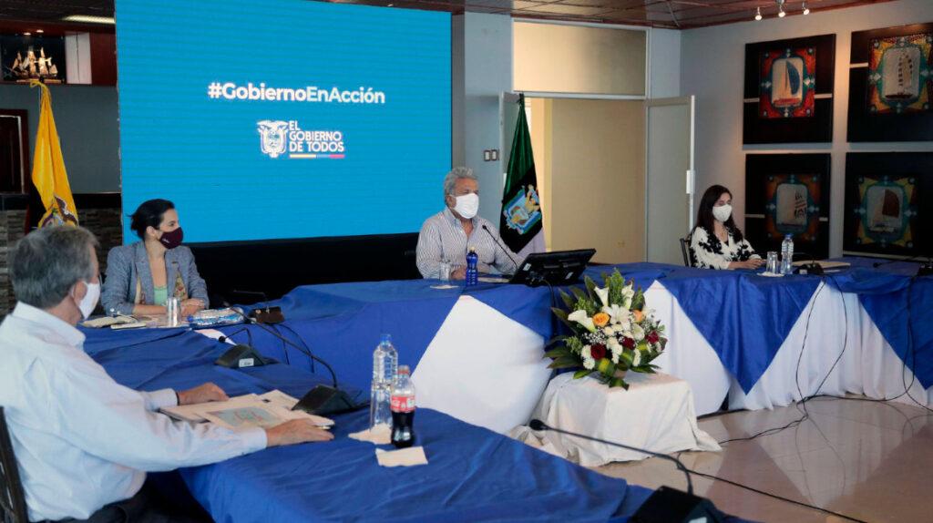 El presidente Moreno y su gabinete, ¿con quiénes gobiernan?