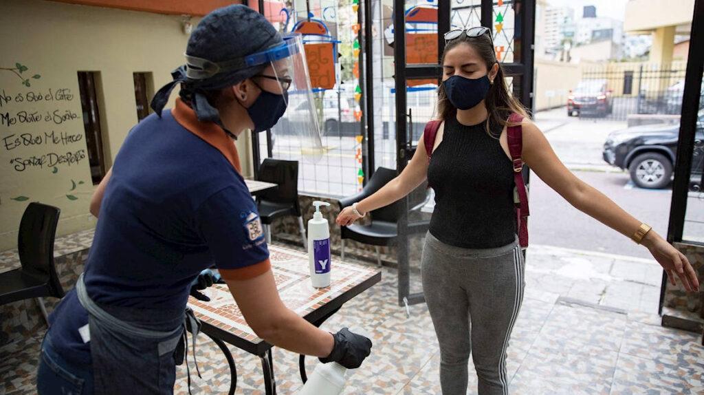 24 de noviembre: Ecuador reporta 492 contagios en 24 horas