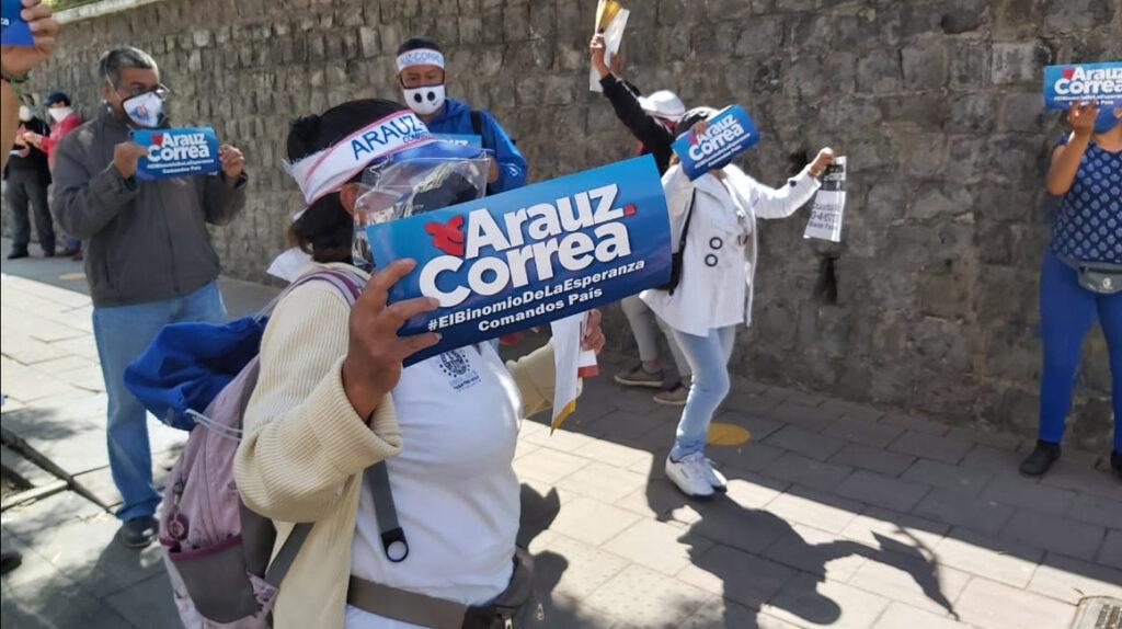 Correísmo toma las mejores posiciones en las listas de Centro Democrático
