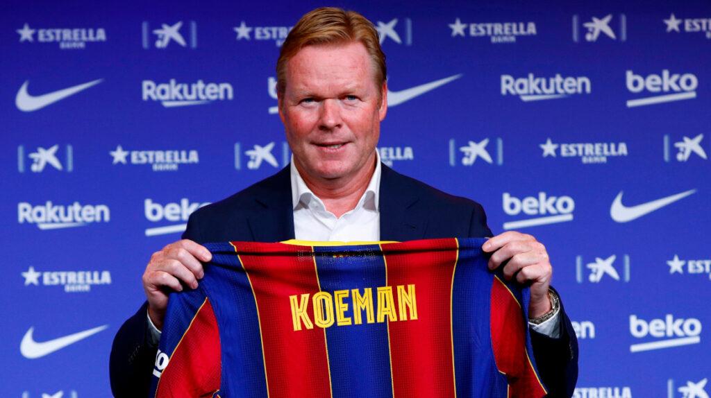"""Para Koeman """"es un placer tener un jugador como Messi en el equipo"""""""