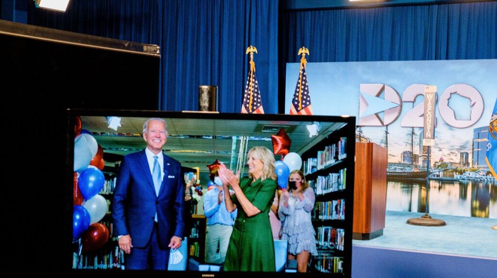 Demócratas confirman la candidatura de Biden a la Presidencia de Estados Unidos