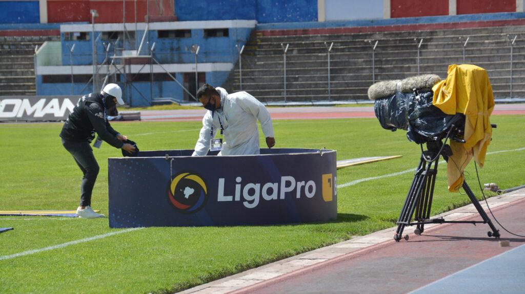 LigaPro responde a los clubes sobre el pago por la transmisión del torneo