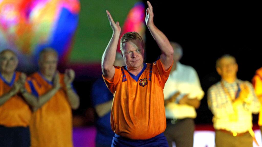 Koeman comunica a federación holandesa su deseo de irse al Barça