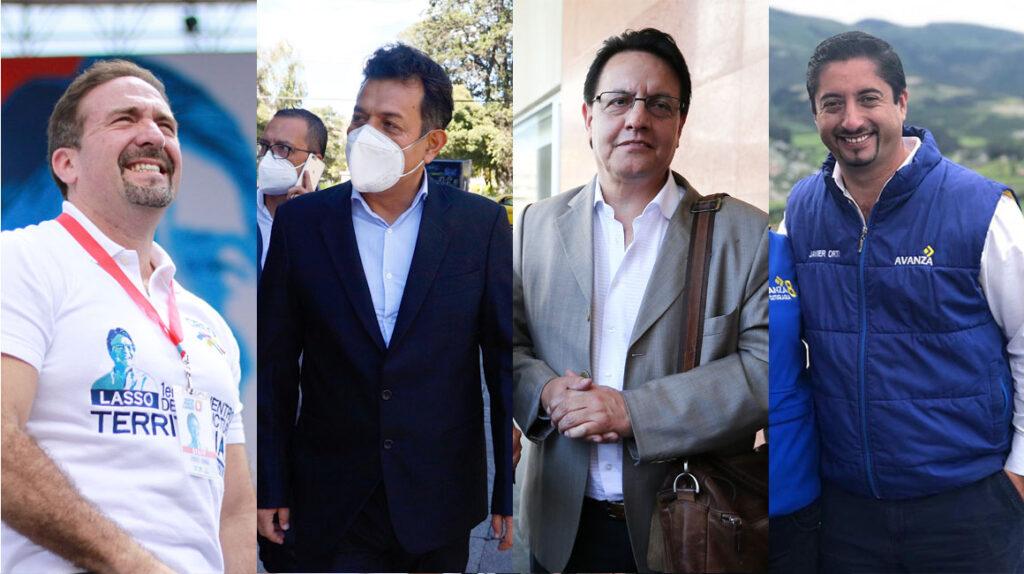 Cuatro hombres encabezan las primeras listas de asambleístas para 2021